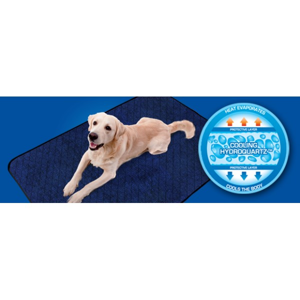 tapis rafra 238 chissant pour chiens aqua coolkeeper cooling mat