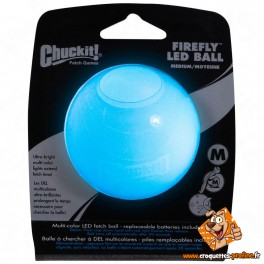 Balle Led Firefly CHUCKIT pour chien