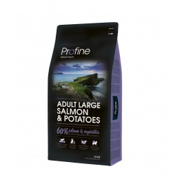 Profine adulte grande race saumon lot de 2 sacs de 15 kilos